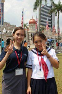 3rd Miyoshimachi Junior High School Overseas Delegation,Japan