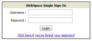 Webspace ID