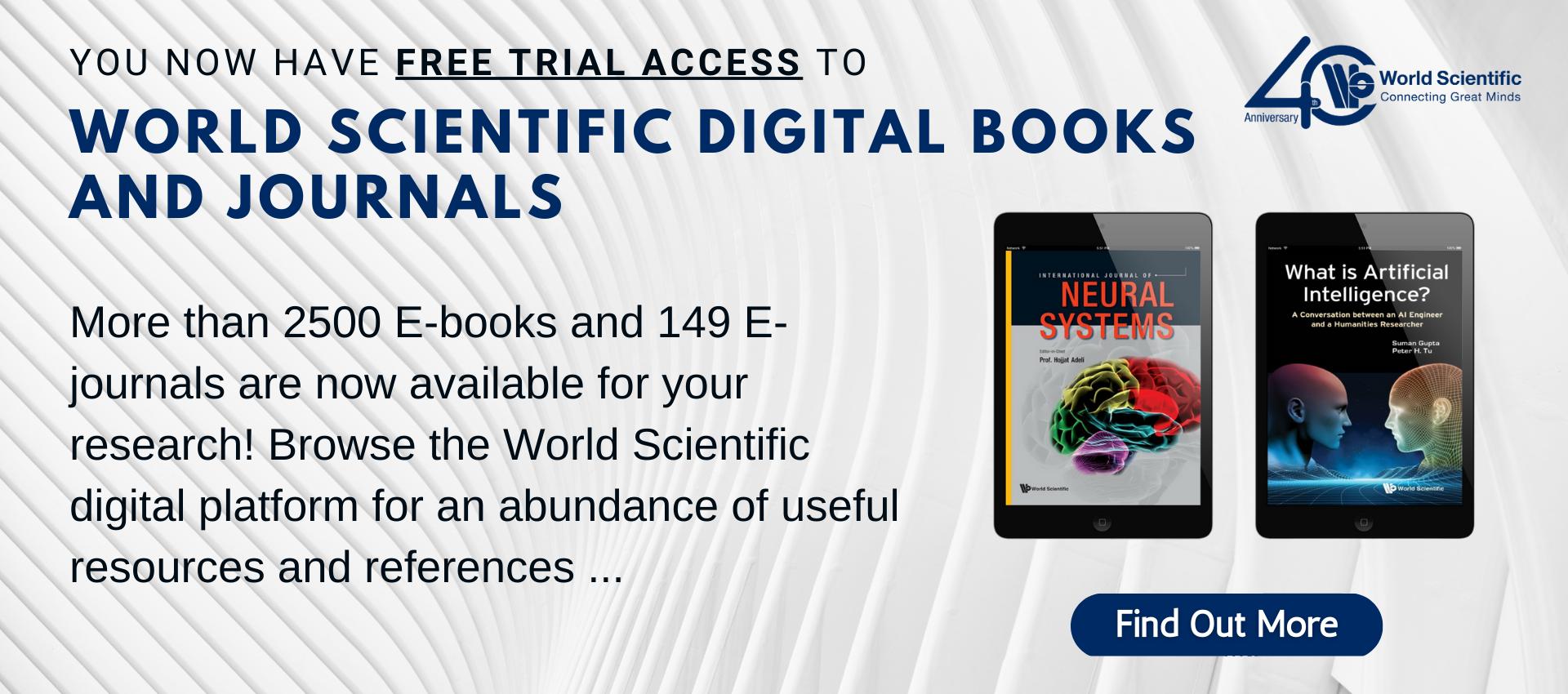 World Scientific Digital Books and Journals